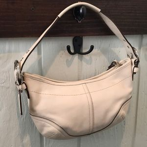Small leather Coach hobo